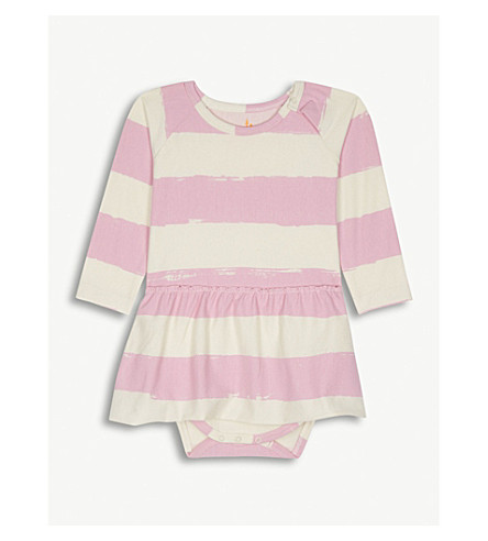 NOE & ZOE Pink stripe cotton dress (Rosestripe