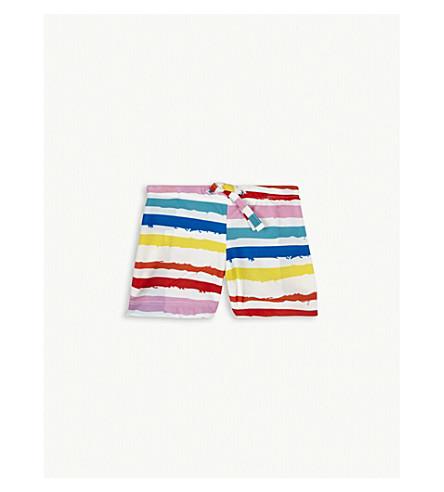 NOE & ZOE Striped swim shorts 12-18 months (Multi