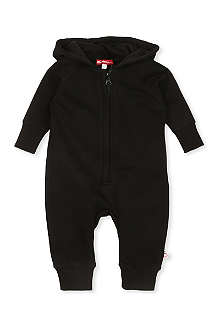 OH BABY LONDON Cape-back hooded baby-grow 3-18 months
