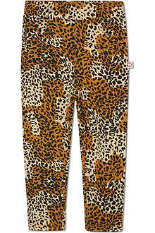 OH BABY LONDON Leopard print jeans 6months-12years
