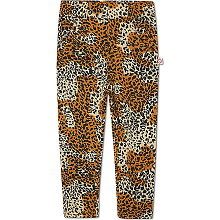 OH BABY LONDON Leopard print jeans 6months-12years (Leopard