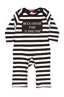 OH BABY LONDON Been inside baby-grow newborn-18 months