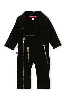 OH BABY LONDON Biker baby-grow 0-18 months