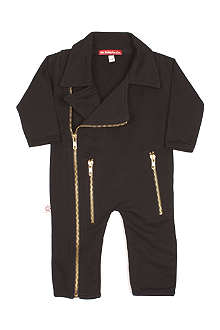 OH BABY LONDON Biker jacket baby-grow newborn-18 months