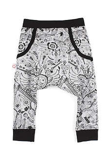 OH BABY LONDON Mex Rock drop crotch trousers 0-3 years