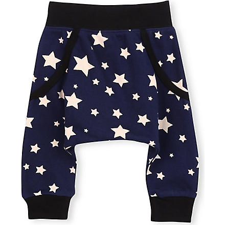 OH BABY LONDON Star print trousers 0-18 months (Blue