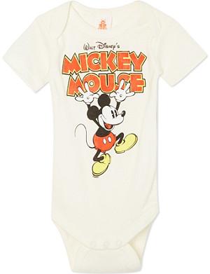 LOGOSHIRT Mickey Mouse bodysuit 0-24 months