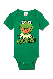 LOGOSHIRT Kermit go green bodysuit 0-24 months
