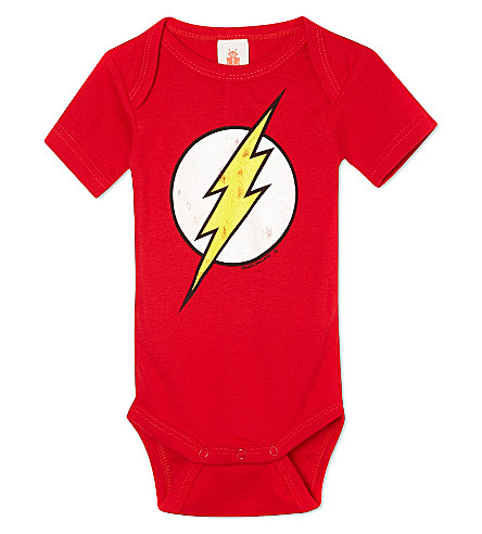 LOGOSHIRT Flash bodysuit 0-24 months (Red