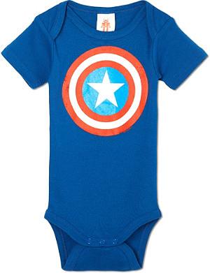 LOGOSHIRT Captain America bodysuit 0-24 months