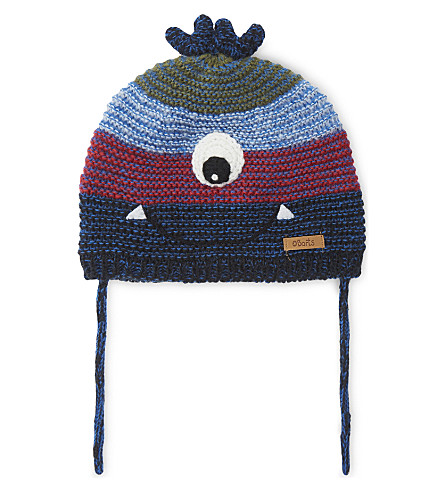BARTS BV Cuddle monster knitted beanie (Navy