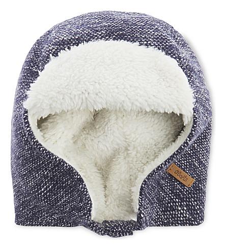 BARTS BV Yeeti faux-fur trapper hat (Navy