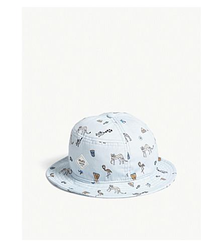 BARTS BV Lobster cotton bucket hat (Blue