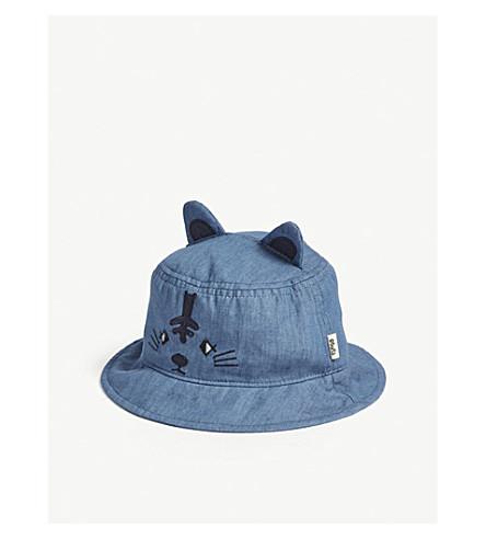BARTS BV Unala bear cotton sun hat (Denim