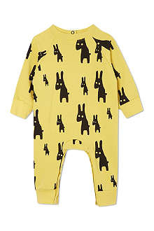 BEAU LOVES Rabbits romper suit 3-24 months
