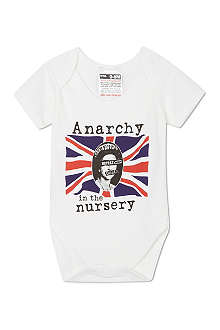 NIPPAZ WITH ATTITUDE Anarchy in the nursery baby-grow 0-12 months