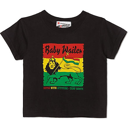 NIPPAZ WITH ATTITUDE Baby Wailer t-shirt 1-2 years (Multi