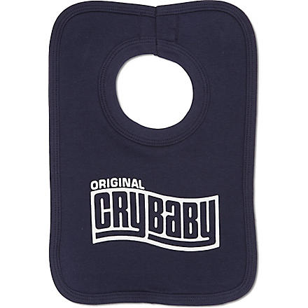 NIPPAZ WITH ATTITUDE Original Cry Baby bib (Navy