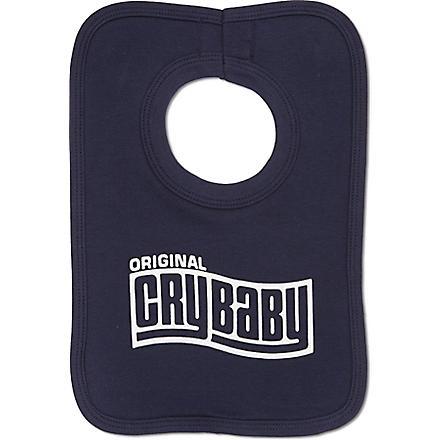 NIPPAZ WITH ATTITUDE Original Cry Baby bib (Navy