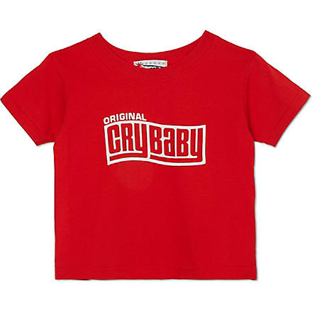 NIPPAZ WITH ATTITUDE Original Cry Baby t-shirt 1-2 years (Red