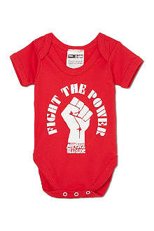 NIPPAZ WITH ATTITUDE Fight The Power babygrow 0-12 months