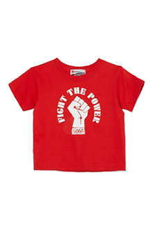 NIPPAZ WITH ATTITUDE Fight The Power t-shirt 1-2 years
