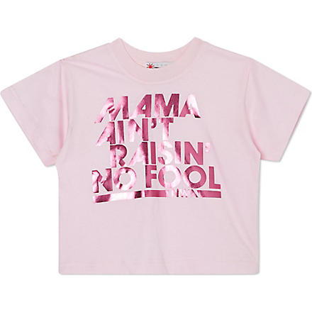 NIPPAZ WITH ATTITUDE Mama Ain't Raisin' No Fool t-shirt 1-2 years (Pink