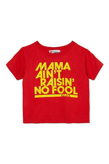 NIPPAZ WITH ATTITUDE Mama Ain't Raisin' No Fool t-shirt 1-2 years