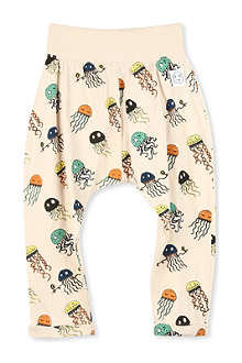 INDIKIDUAL Jellyfish cotton harem trousers 3-24 months