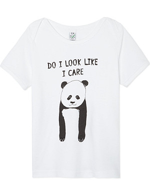 BLACK SCORE Panda t-shirt 2-12 years