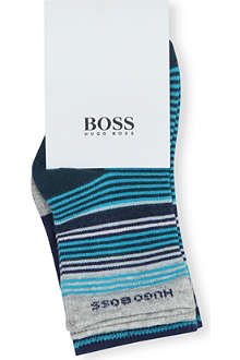 HUGO BOSS Set of striped boys socks