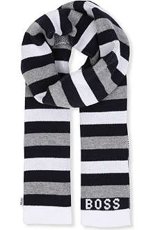 BOSS Striped scarf