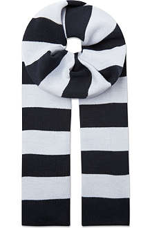 HUGO BOSS Striped scarf