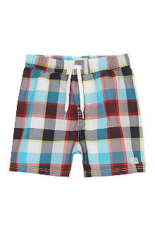 BOSS Checked swim shorts 6-36 months