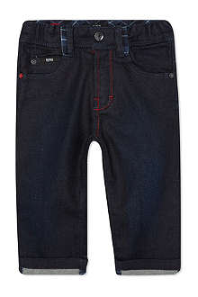 HUGO BOSS Five-pocket turn-up jeans 6-36 months