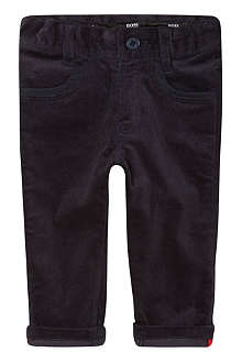 HUGO BOSS Four pocket velvet trousers 6-36 months