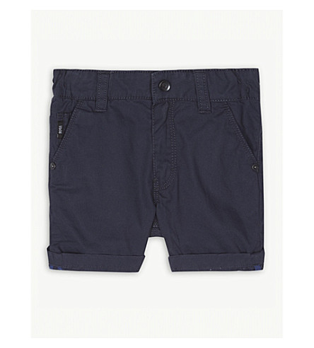 BOSS Bermuda cotton shorts 6-36 months (Navy