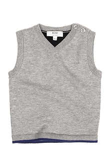 HUGO BOSS Knitted vest 6 months-3 years