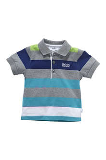 HUGO BOSS Striped polo shirt 6 months-3 years