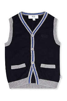BOSS Knitted vest cardigan 9 months - 3 years
