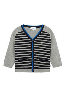 BOSS Striped cardigan