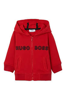 BOSS Hooded jacket zipped 6-36 months