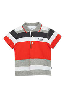 BOSS Striped polo shirt 6-36 months