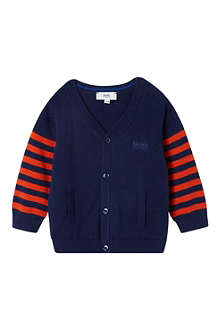 HUGO BOSS Striped cardigan 3-36 months
