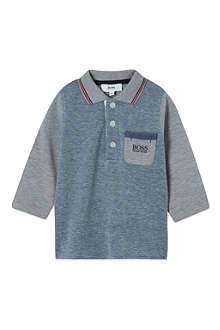 HUGO BOSS Cotton polo top 3-36 months