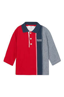 HUGO BOSS Stripe polo shirt 3months- 3years