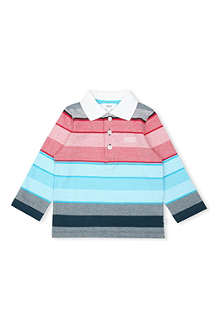 HUGO BOSS Multi-stripe polo shirt 6 months-3 years