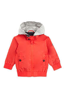 BOSS Zipped hooded waterproof jacket 6months- 3years