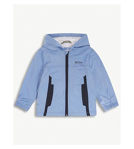 BOSS Windbreaker hooded coat 6-36 months (Blue
