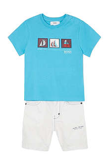 BOSS T-shirt & shorts set 6-36 months